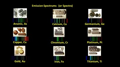 Most of the images of elements used in the Shedding Light on Atoms series were taken by Heinrich Pniok. Visit http://pse-mendelejew.de/en/ to see his collection.