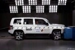 ANCAP CRASH TEST Jeep Patriot 4x2 (from 2011) - maximum 5 star ANCAP safety rating copyright ANCAP
