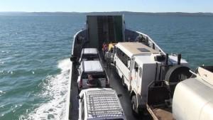 Spiro_on_boat_to_Fraser_Island