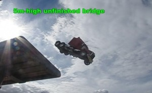 truck_driving_off_5-metre_high_unfinished_bridge